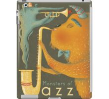 Monsters of Jazz iPad Case/Skin
