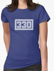 330 Rectangle Womens Fitted T-Shirt