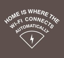Home is where the wi-fi connects automatically by squidyes