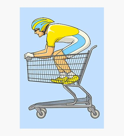 Retail Racer Photographic Print