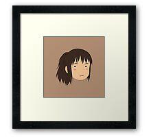 Spirited Away Chihiro Framed Print