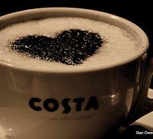 Love Coffee. by Stan Owen