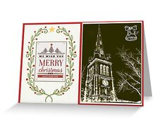 Happy Christmas from Kettering  Greeting Card