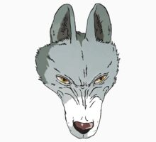 princess mononoke wolf goddess by flamborchid