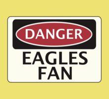 DANGER EAGLES FAN FAKE FUNNY SAFETY SIGN SIGNAGE Kids Clothes