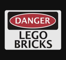 DANGER LEGO BRICKS FAKE FUNNY SAFETY SIGN SIGNAGE by DangerSigns