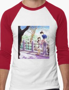 Detective Conan: Ran and Shinichi Men's Baseball ¾ T-Shirt