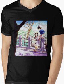 Detective Conan: Ran and Shinichi Mens V-Neck T-Shirt