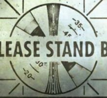Fallout - Please stand by Sticker