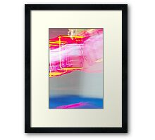 The Light Is The Art 24 (Light Painting, Ryleigh's Series A) Framed Print
