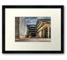 Dayton Garage Framed Print
