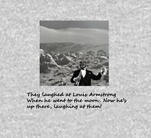 Louis Armstrong On the Moon Unisex T-Shirt