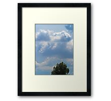 ©HCS The Raiders Clouds And Tree Framed Print