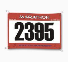 Marathon Runner Baby Tee