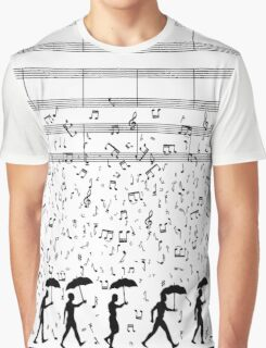 Singing in the Raaaain Graphic T-Shirt