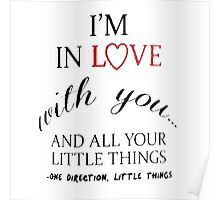 I'm In Love With You Poster