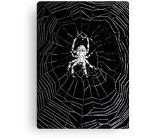 Twilight Zone Spider Canvas Print