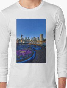 Yaletwon And False Creek Vancouver Long Sleeve T-Shirt