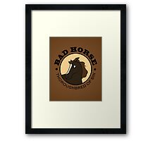 The Thoroughbred Of Sin Framed Print