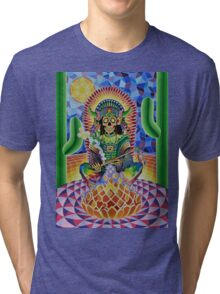 CHANGA WARRIOR Tri-blend T-Shirt