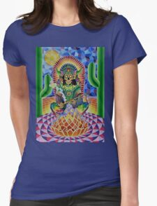 CHANGA WARRIOR Womens Fitted T-Shirt