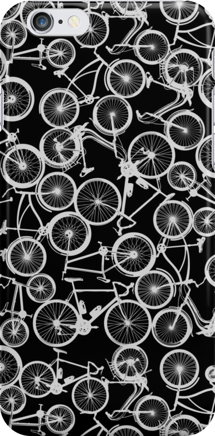Pile of Grey Bicycles by zomboy
