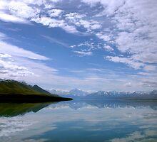 Lake Pukaki scenic landscape by jwwallace