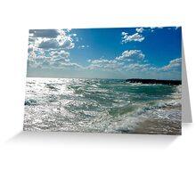 Summer Beach Greeting Card