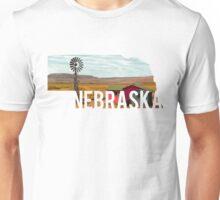 Nebraska Windmill Unisex T-Shirt