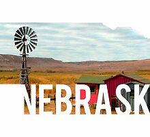 Nebraska Windmill by Daogreer Earth Works