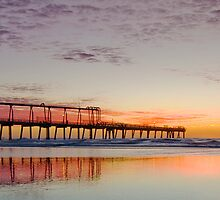 Sunrise on Main - Gold Coast Qld Australia by Beth  Wode