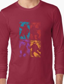 Heroes in a Half Shell Long Sleeve T-Shirt
