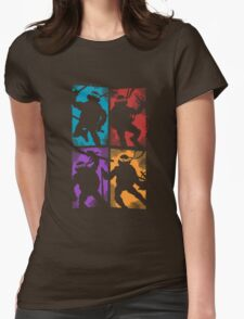 Heroes in a Half Shell Womens Fitted T-Shirt