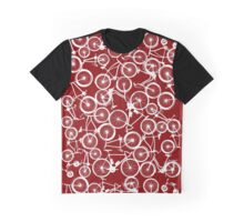 Pile of White Bicycles Graphic T-Shirt