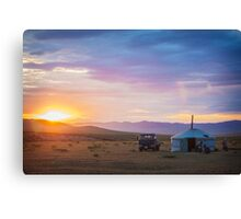 Nomad Life Canvas Print