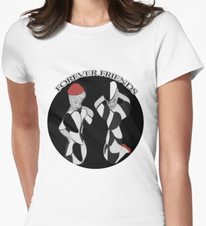 ✿♥‿♥✿FOREVER FRIENDS TEE SHIRT✿♥‿♥✿ Womens Fitted T-Shirt