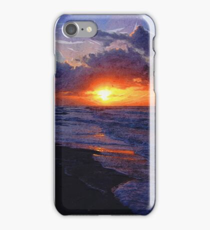 Sunrise Over The Atlantic Ocean iPhone Case/Skin