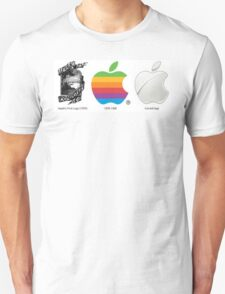 Apple evolution Unisex T-Shirt