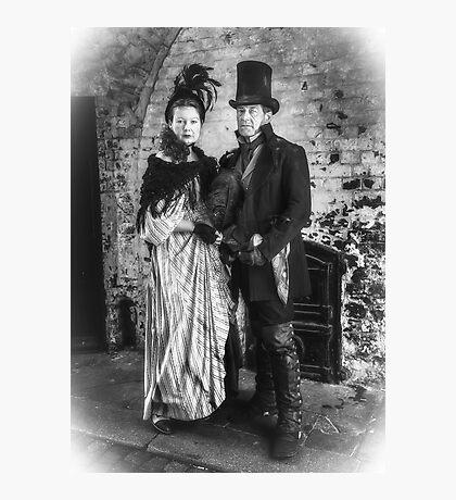 Victorian Couple Photographic Print