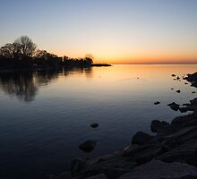A Quiet Sunrise, Toronto, Lake Ontario by Georgia Mizuleva