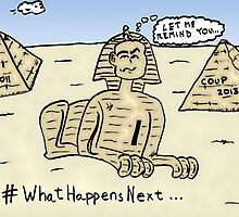 Soothsaying Sphynx cartoon by Binary-Options
