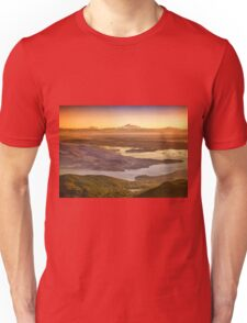 Vancouver And Mt Baker Aerial View Unisex T-Shirt