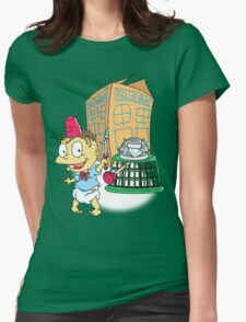 Tommy Who Womens Fitted T-Shirt