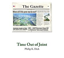 Time Out of Joint - Little Green Man Photographic Print