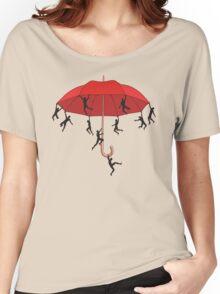 Umbrella Mayhem Women's Relaxed Fit T-Shirt