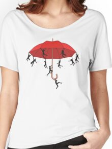 Umbrella Mayhem Women's Relaxed Fit T-Shirt