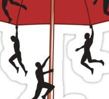 Umbrella Mayhem Sticker