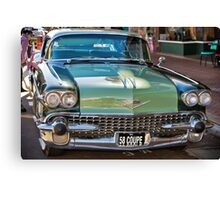 Cadillac 58 Coupe Canvas Print