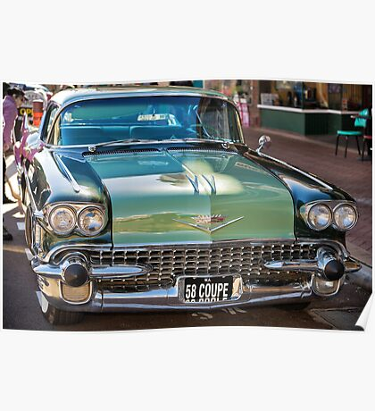 Cadillac 58 Coupe Poster