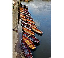 Row Row Row Your Boat Photographic Print